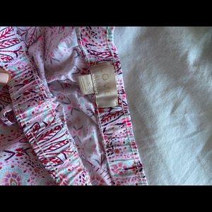 Super cute gap love pajama shorts